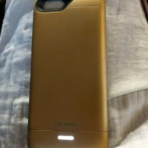 I-Blasion battery charging case for iPhone 6 GOLD